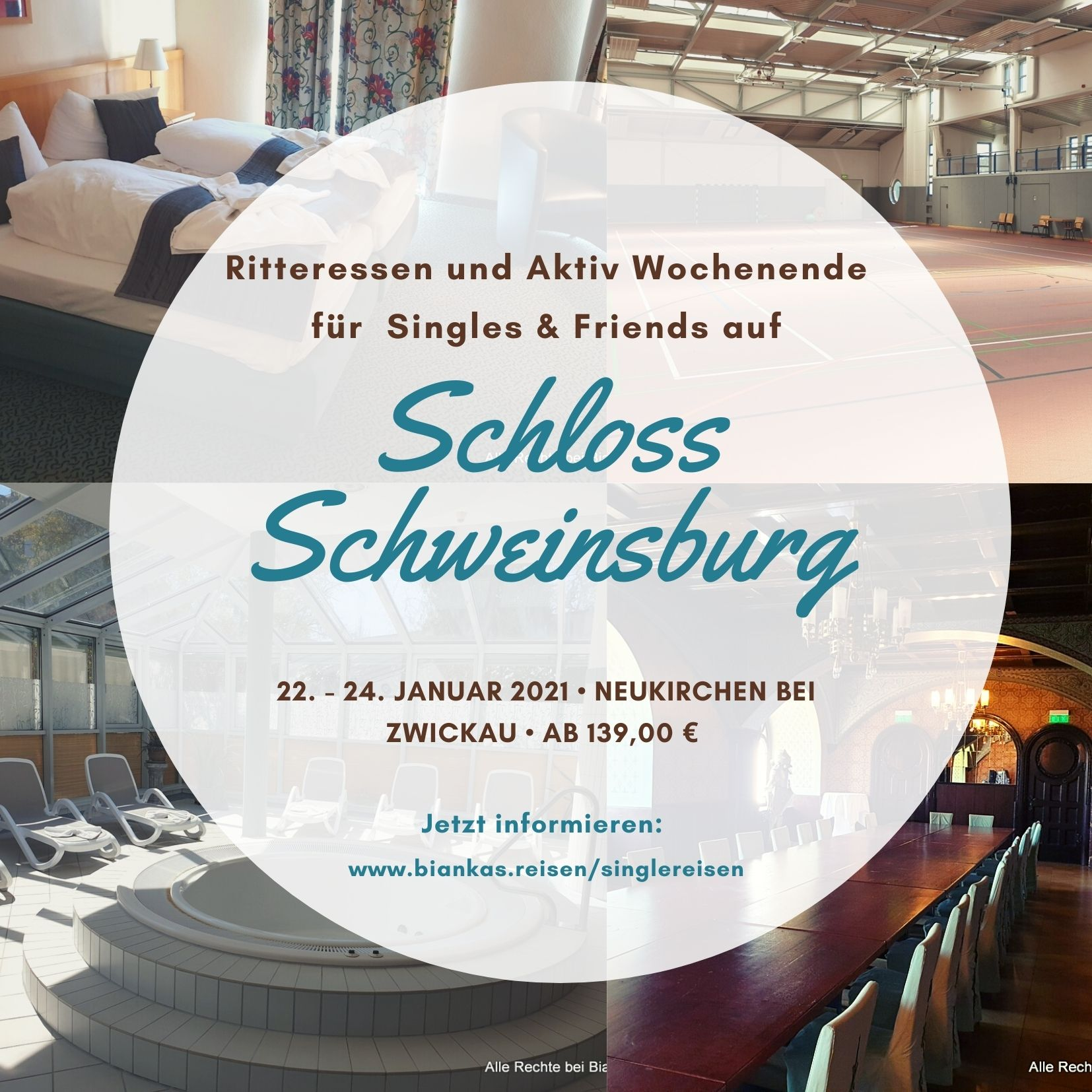 >> Single Weekend Schloss Schweinsburg